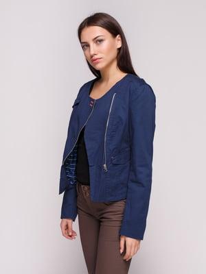 Куртка синя | 4619031