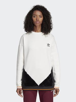 Джемпер бело-черный | 4641589
