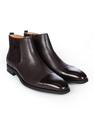 Ботинки коричневые | 4601652