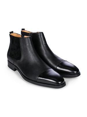 Ботинки черные | 4601658