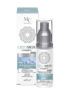 Мезокрем-филлер для лица «Увлажнение 72 часа + Разглаживание морщин» (50 мл)   4656798