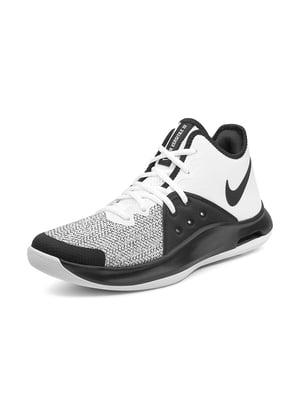 Кроссовки черно-белые Air Versitile 3   4648677
