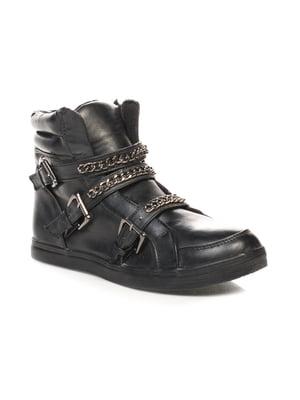 Черевики чорні | 4620247