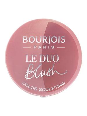 Рум'яна подвійні Le Duo Blush - №02 (2,4 г) - Bourjois - 4656413