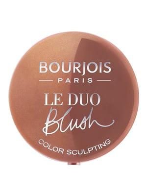 Рум'яна подвійні Le Duo Blush - №03 (2,4 г) | 4656414
