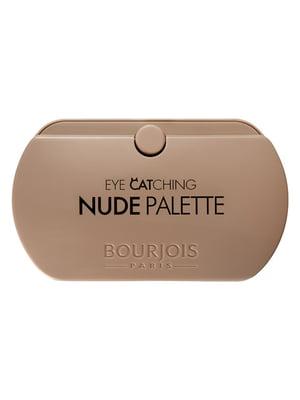 Палетка из 8 теней Eye Catching Nude Palette (4,5 г) | 4656434