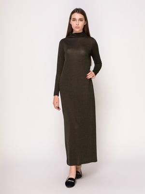 Платье цвета хаки | 4622598