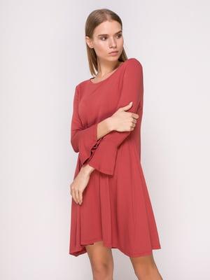 Платье фрезового цвета | 4622820