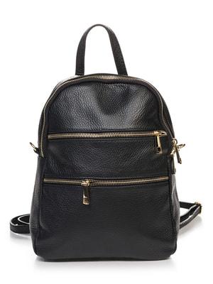 Рюкзак чорний | 4648180