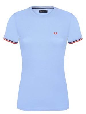 Футболка блакитна - Fred Perry - 4602191