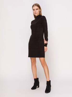 Платье-гольф черное | 4660702