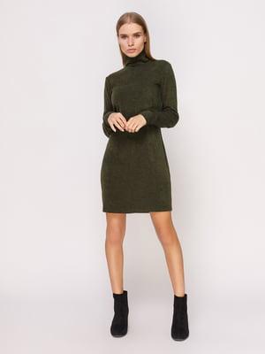 Платье-гольф темно-зеленое   4660704