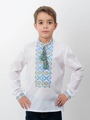 Вышиванка белая | 3817907
