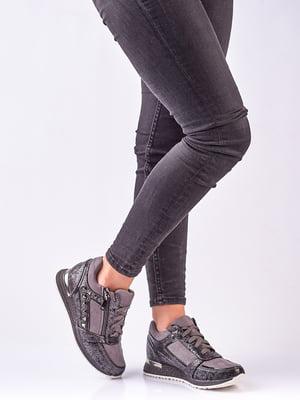 Кросівки графітового кольору | 4623396