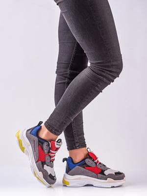 Кросівки комбінованого забарвлення | 4623411