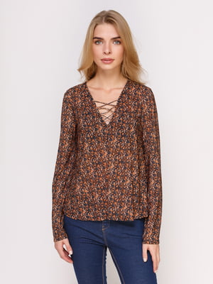 Блуза в квітковий принт | 4622873