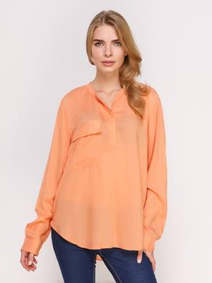 Блуза оранжевая   4622564