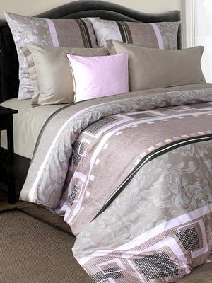 Комплект постельного белья полуторный - Блакіт - 4661593