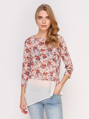 Блуза в цветочный принт   4622681