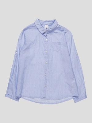 Сорочка блакитна | 4622115