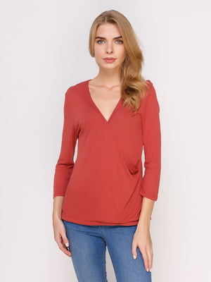Пуловер красный | 4621592