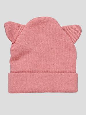Шапка рожева | 4626273