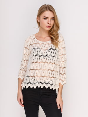 Блуза молочного цвета   4622469