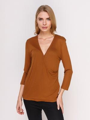 Пуловер коричневый | 4625181