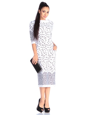 Сукня в квітковий принт | 4629367