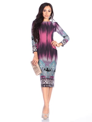 Платье в принт | 4629368