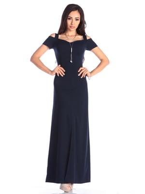 Сукня темно-синя | 4636991