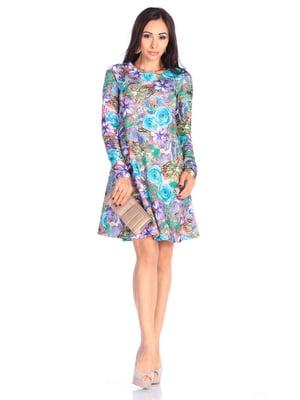 Сукня в принт | 4637027