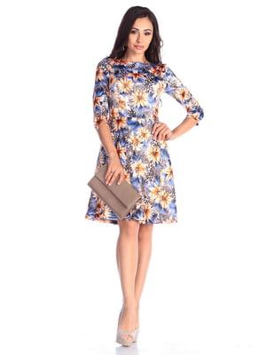 Сукня в квітковий принт | 4648624