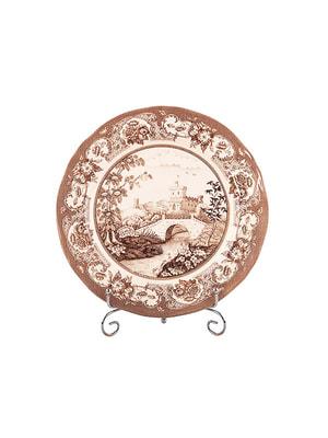 Тарелка «Пимберли браун» (27 см) | 4662853