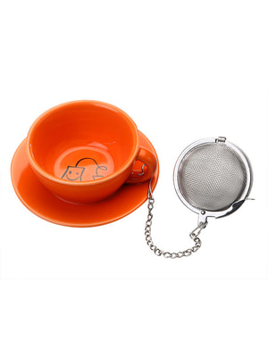 Підставка під чайні пакетики з металевим фільтром (3,5х8х8 см) | 4662989