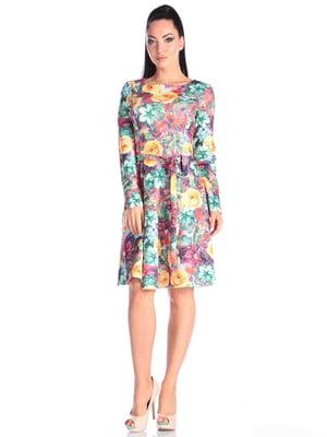 Сукня в принт | 4614815