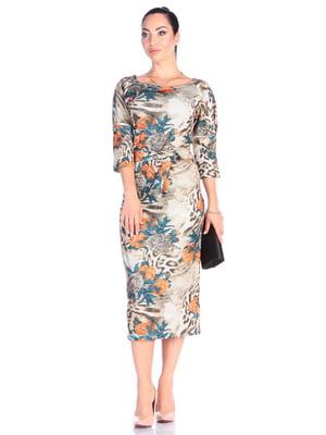 Платье в принт | 4625976