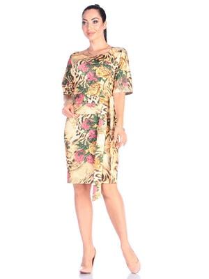 Платье в принт | 4637121