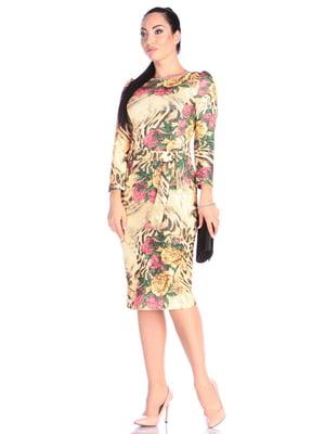 Сукня в принт | 4637142