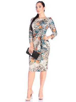 Сукня в принт | 4637143