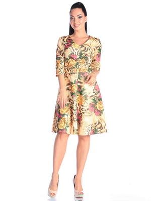 Сукня в принт | 4637145