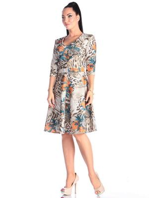 Платье в принт | 4637146
