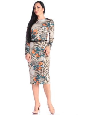 Сукня в принт | 4637149
