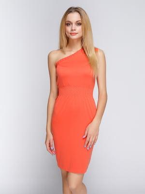 Платье оранжевое   4625306