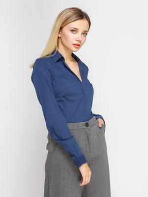 Рубашка синяя | 4625974