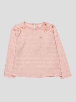 Лонгслів рожевий | 4621342
