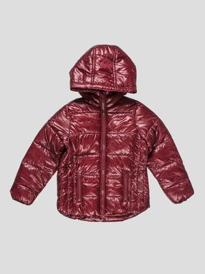 Куртка бордовая | 4626760