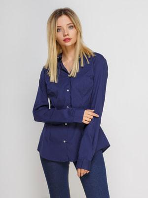 Рубашка синяя | 4626069