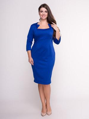 Платье цвета электрик | 4601138