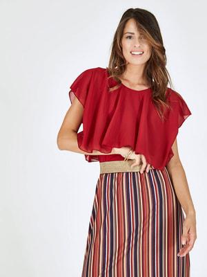 Блуза красная   4652729